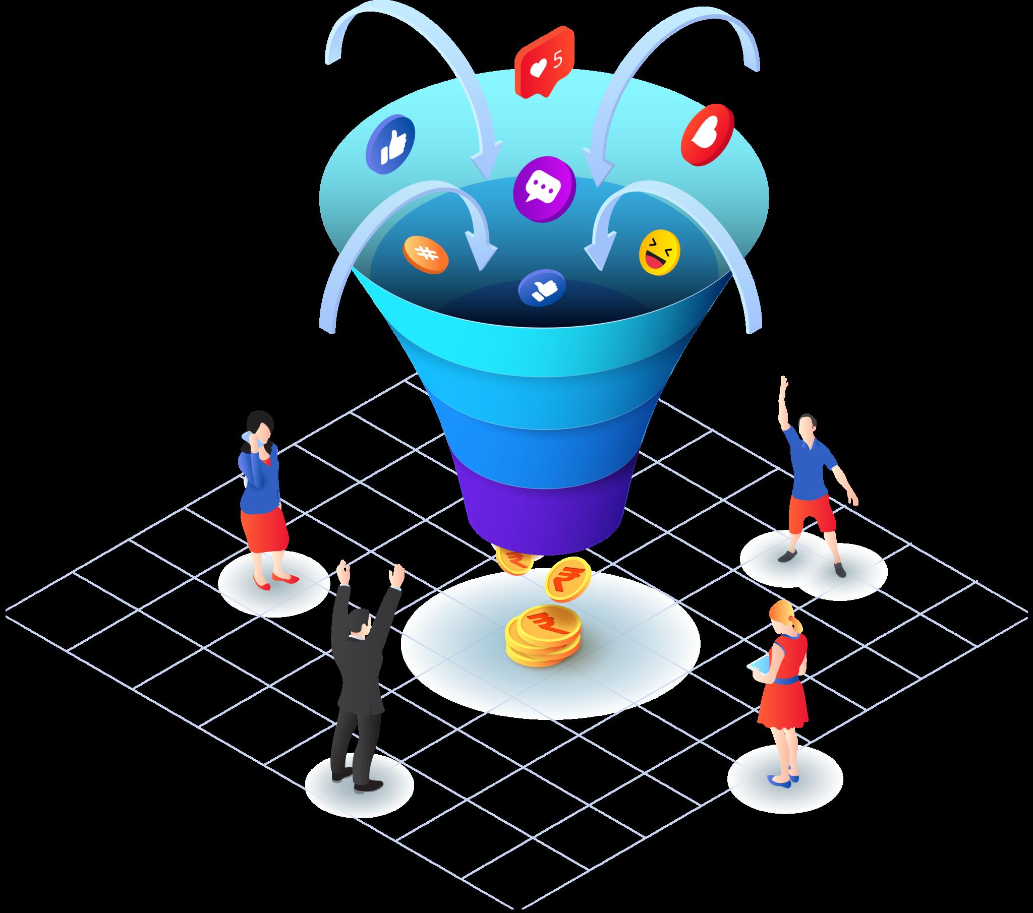 social media funnel in 2021